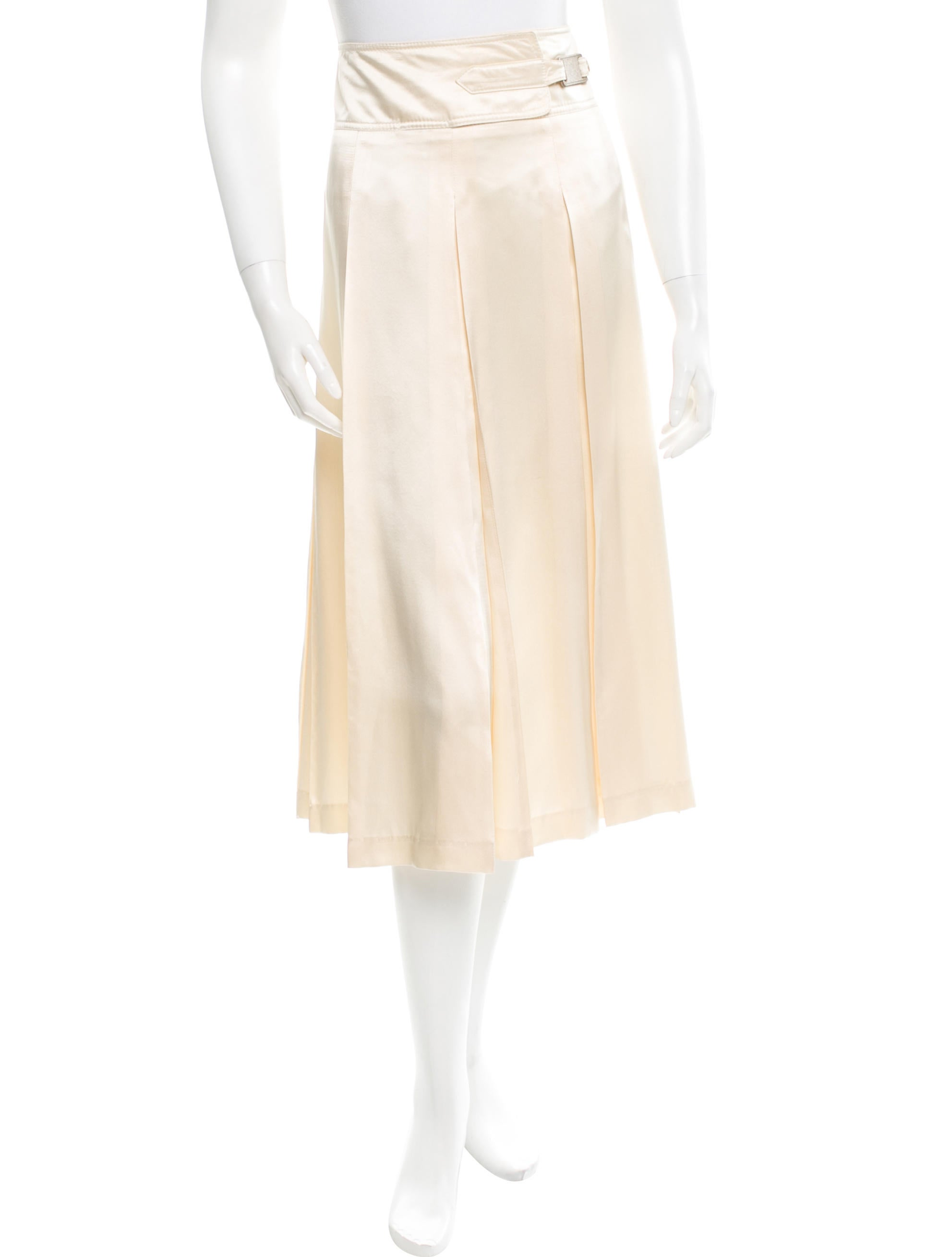 dries noten pleated silk skirt skirts dri26775