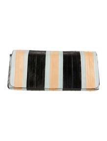 Prada Vitello Shine Hinge Clutch - Handbags - PRA80785 | The RealReal