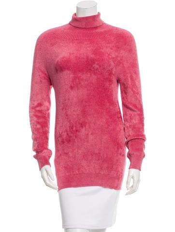 Dries Van Noten Textured Turtle Neck Sweater None