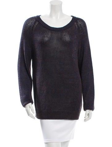 Dries Van Noten Knit Linen Sweater None