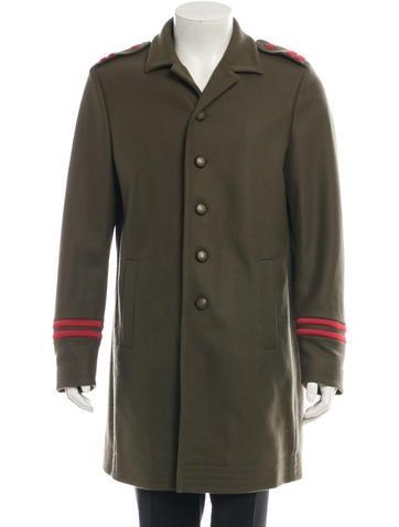 Dsquared² Wool Military Coat