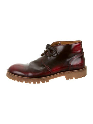 Dsquared² Leather Chukka Boots