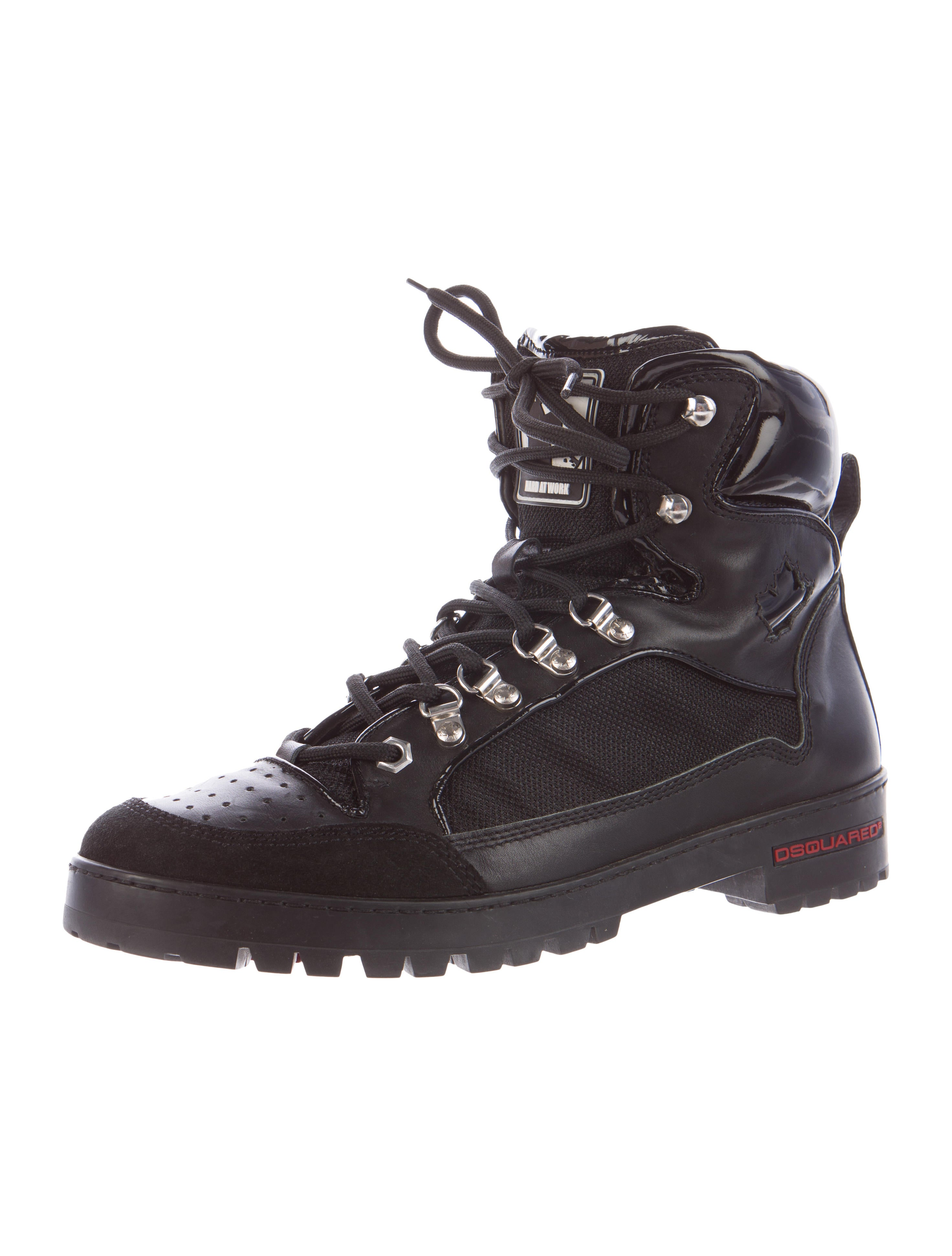dsquared 178 combat boots shoes dsq23019 the realreal