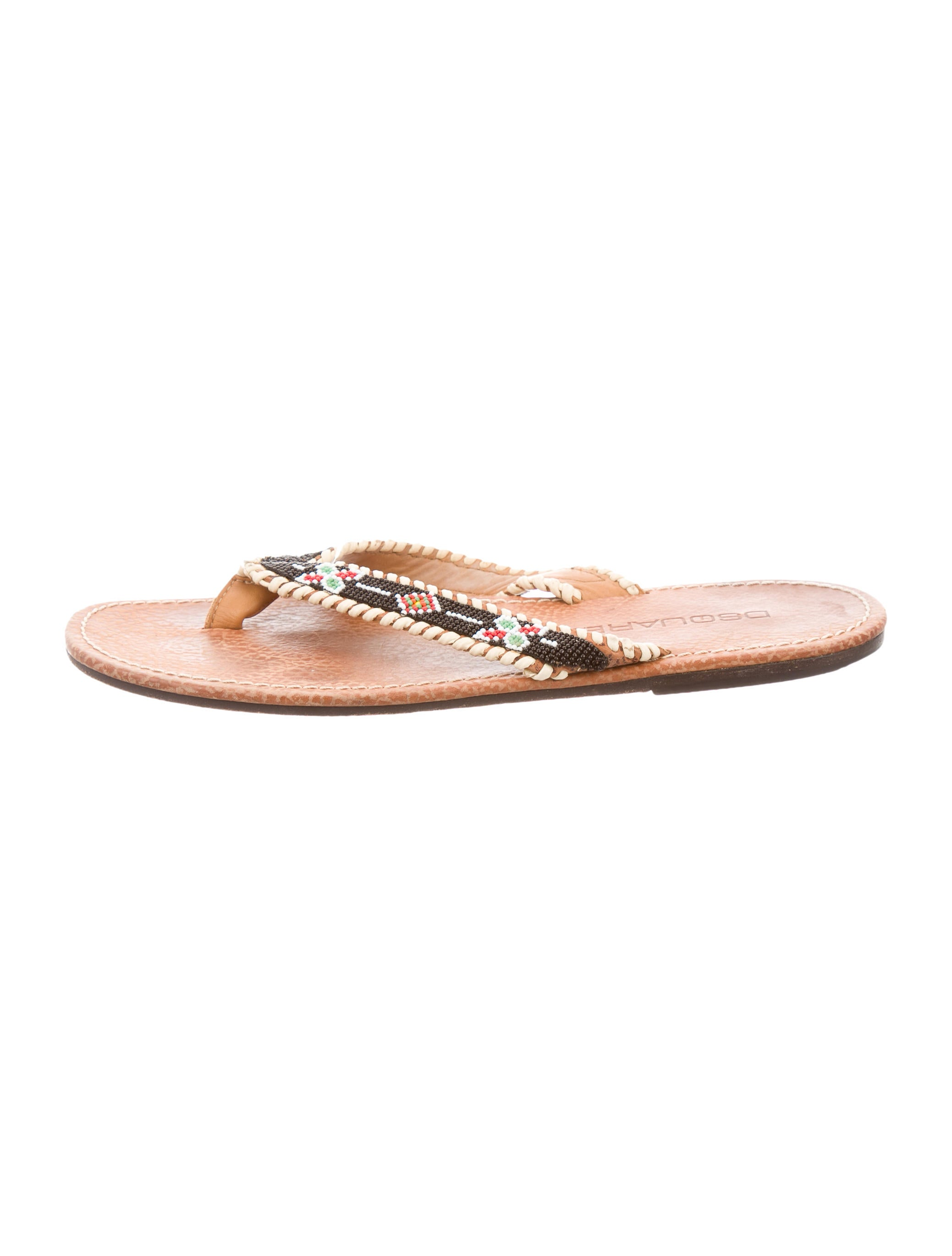 dsquared 178 leather beaded slide sandals shoes dsq23228