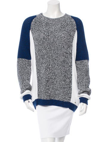 Dsquared² Knit Colorblock Sweater w/ Tags None