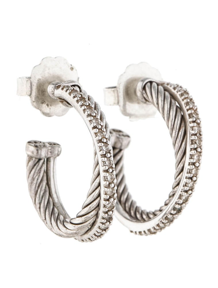 david yurman earrings sale david yurman cable crossover earrings earrings 4050