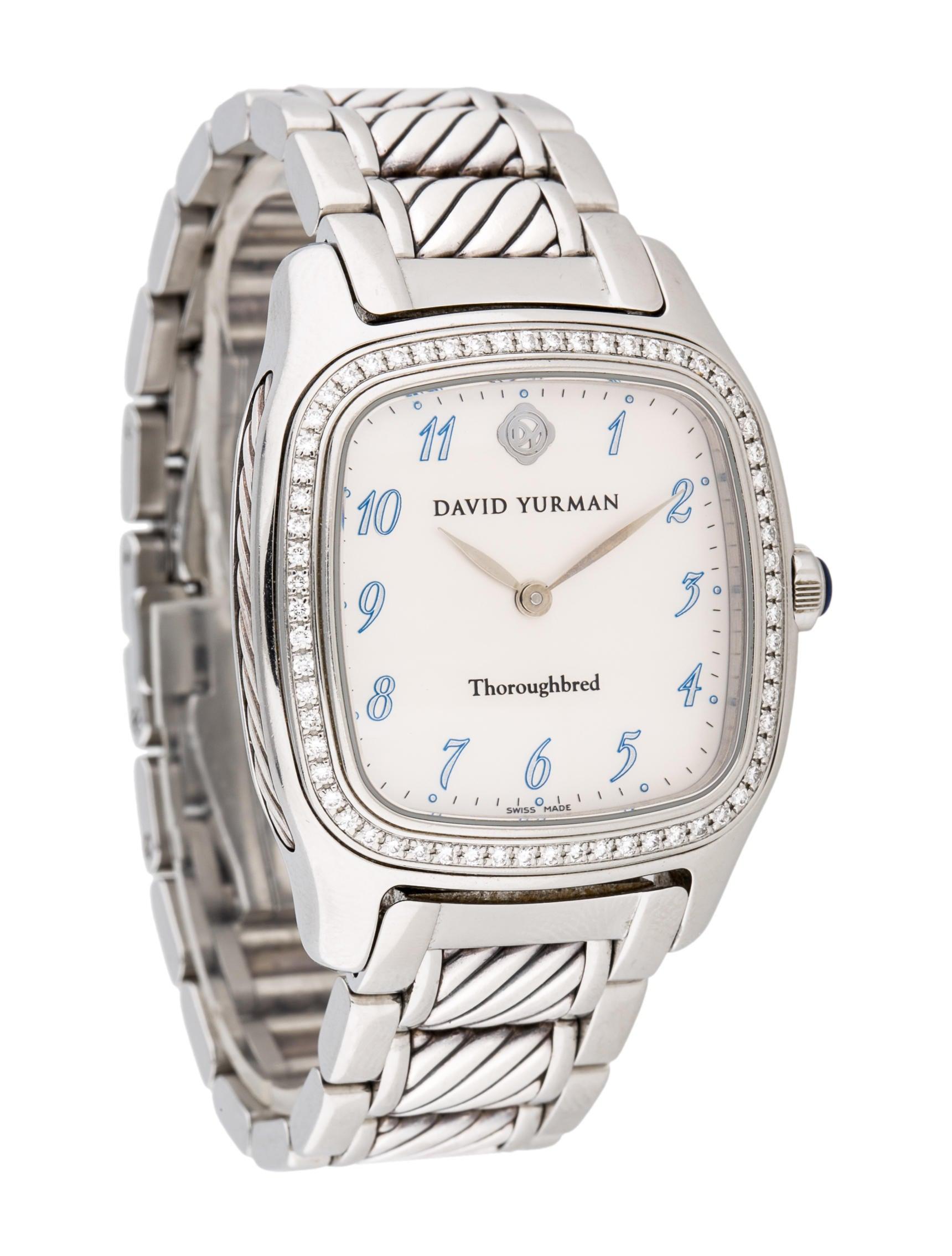 david yurman thoroughbred watches