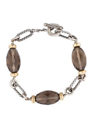 David Yurman Smoky Quartz Bijoux Bracelet