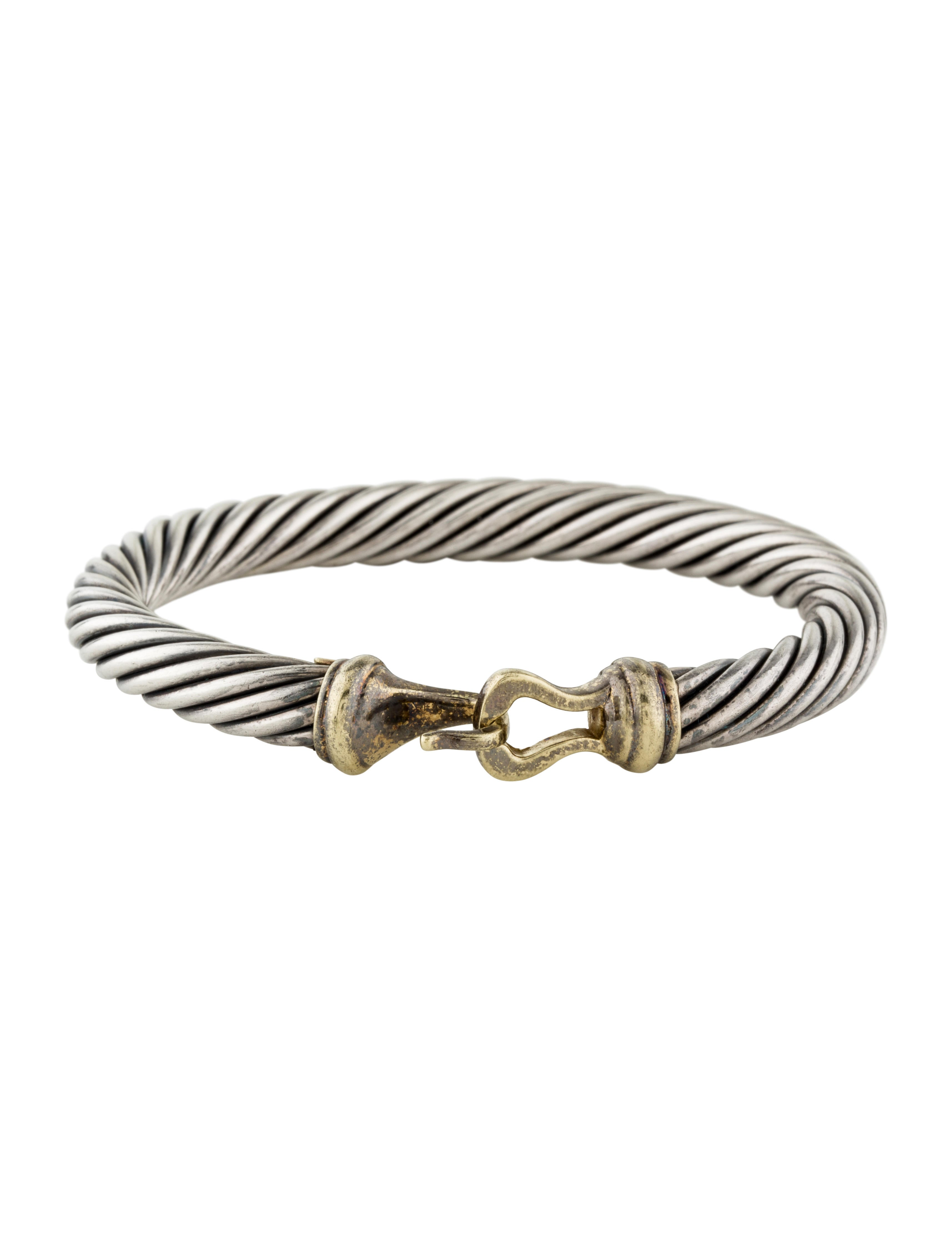 David yurman cable buckle bracelet bracelets dvy33352 for David yurman inspired bracelet cable