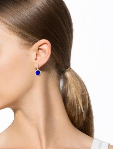 Carved Drop Earrings