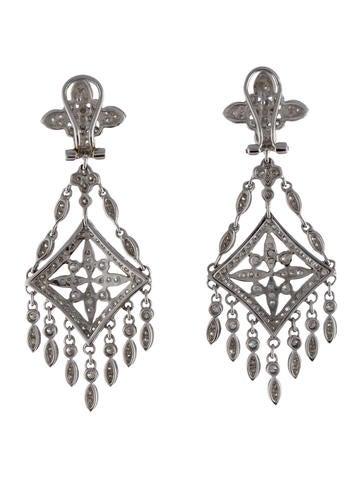 Diamond Chandelier Earrings Earrings Earri25109 The