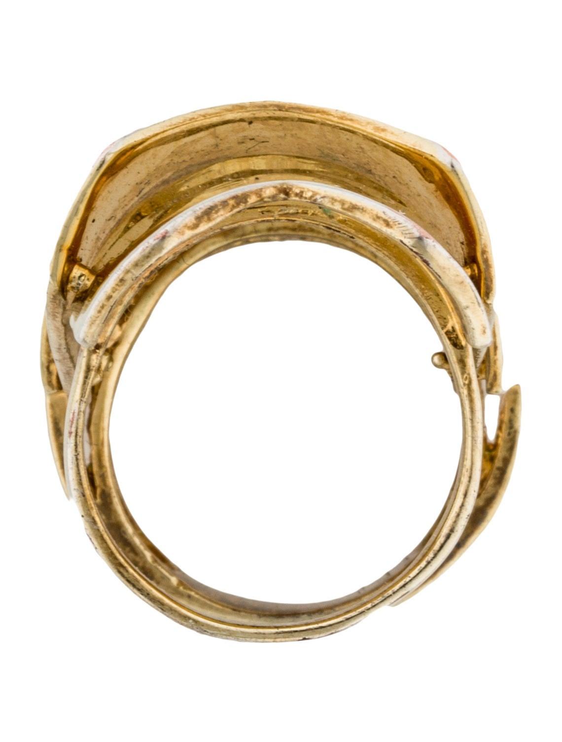 eddie borgo hinge ring rings ebo20982 the realreal