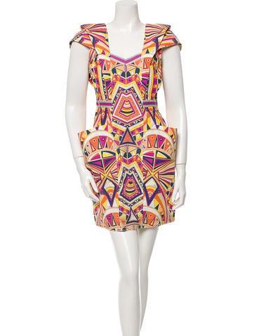 Emilio Pucci Geometric Print Dress
