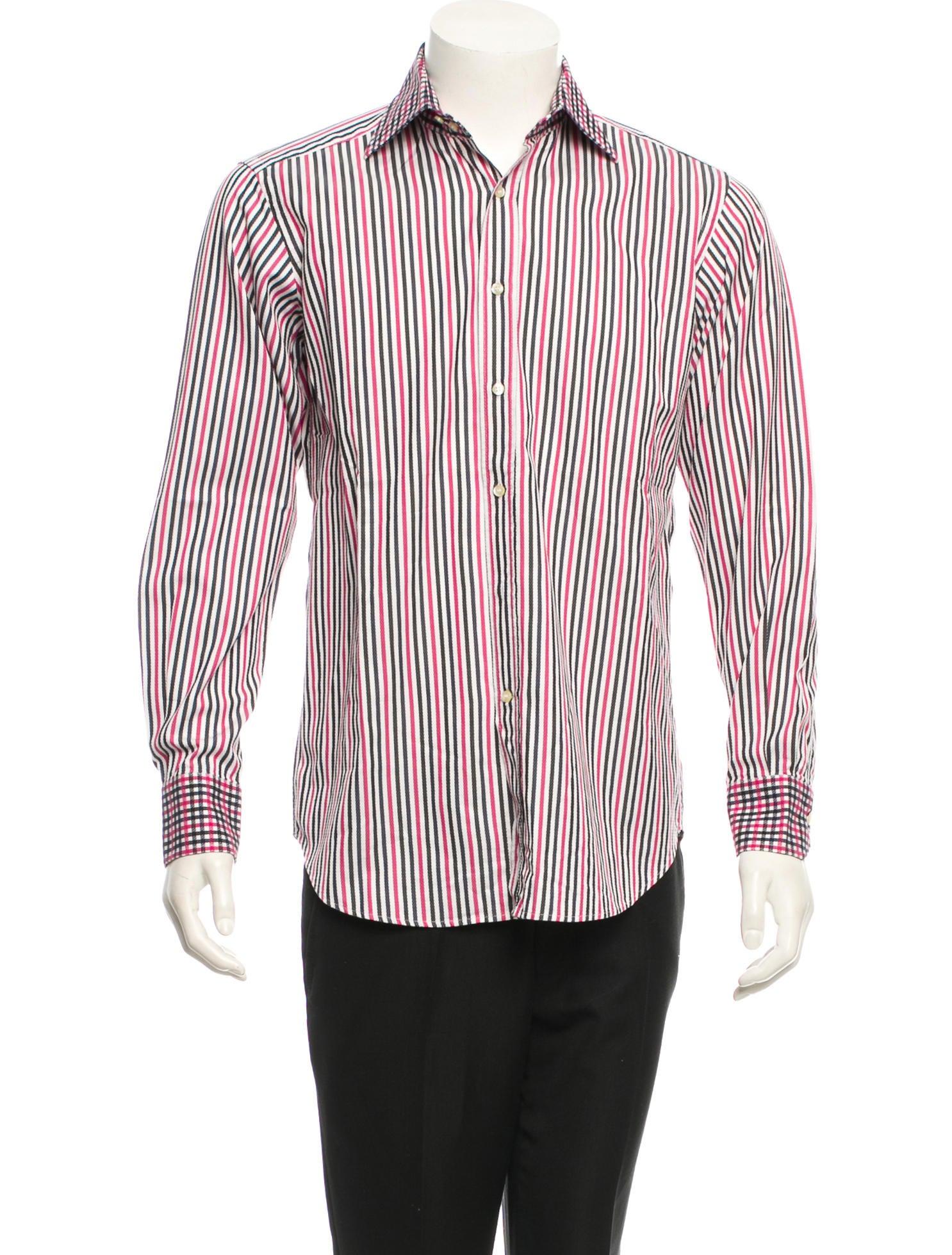 Etro shirt mens shirts etr27637 the realreal for Etro men s shirts