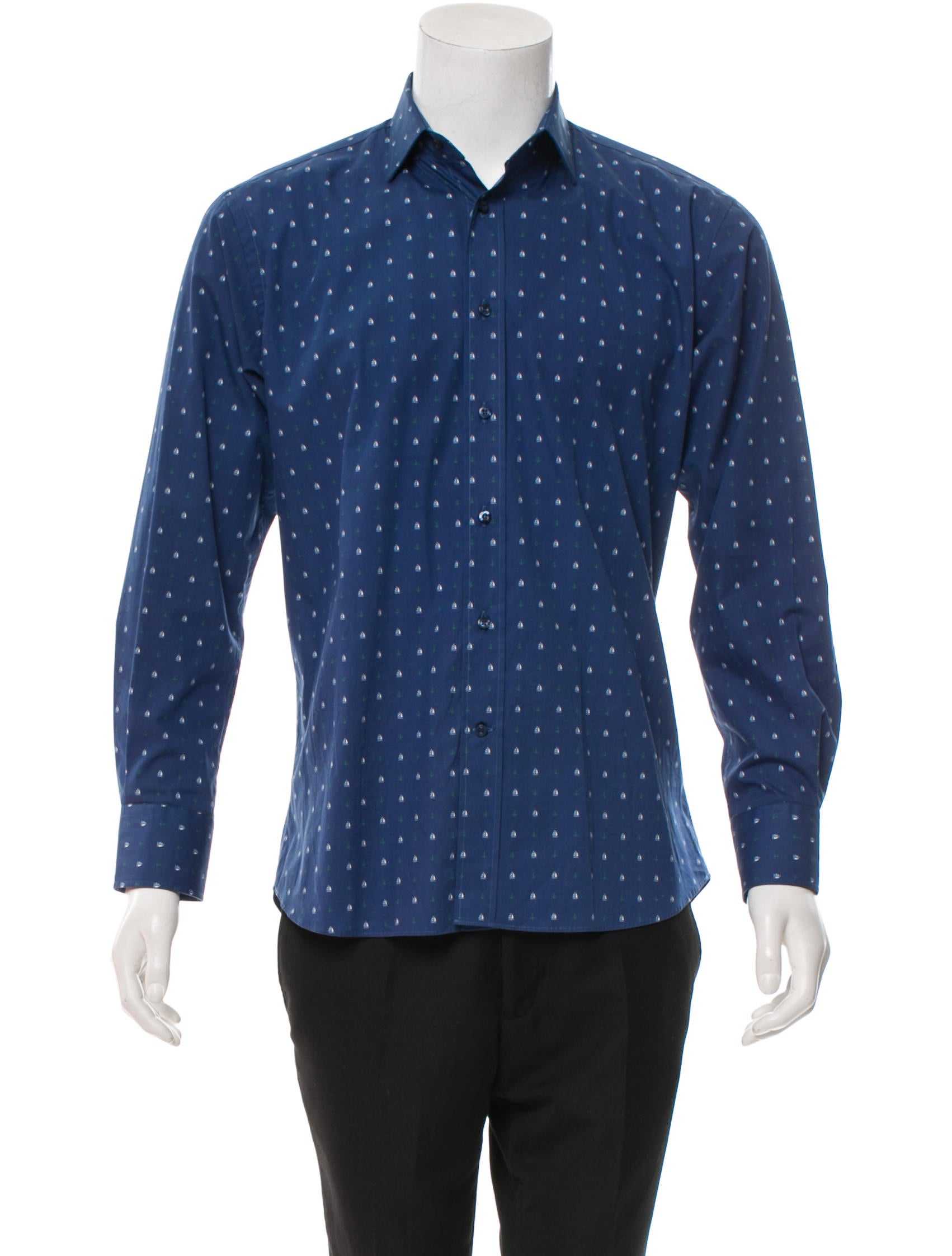 Etro long sleeve button up shirt clothing etr30994 for Cool long sleeve button up shirts