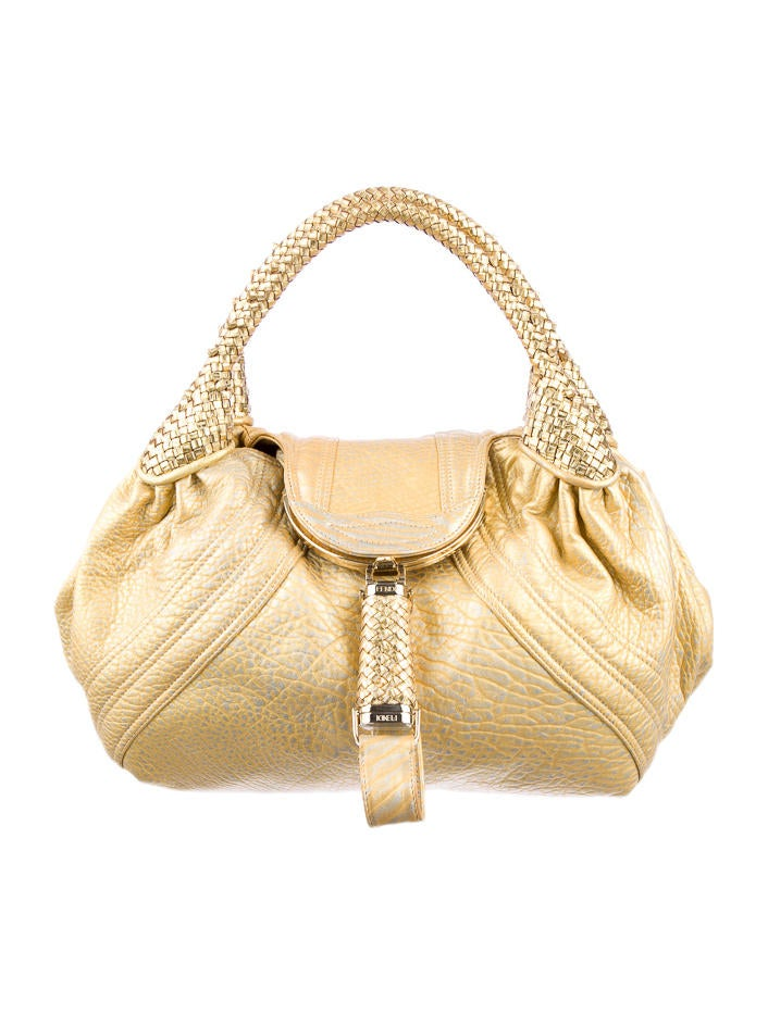 Fendi Metallic Spy Bag
