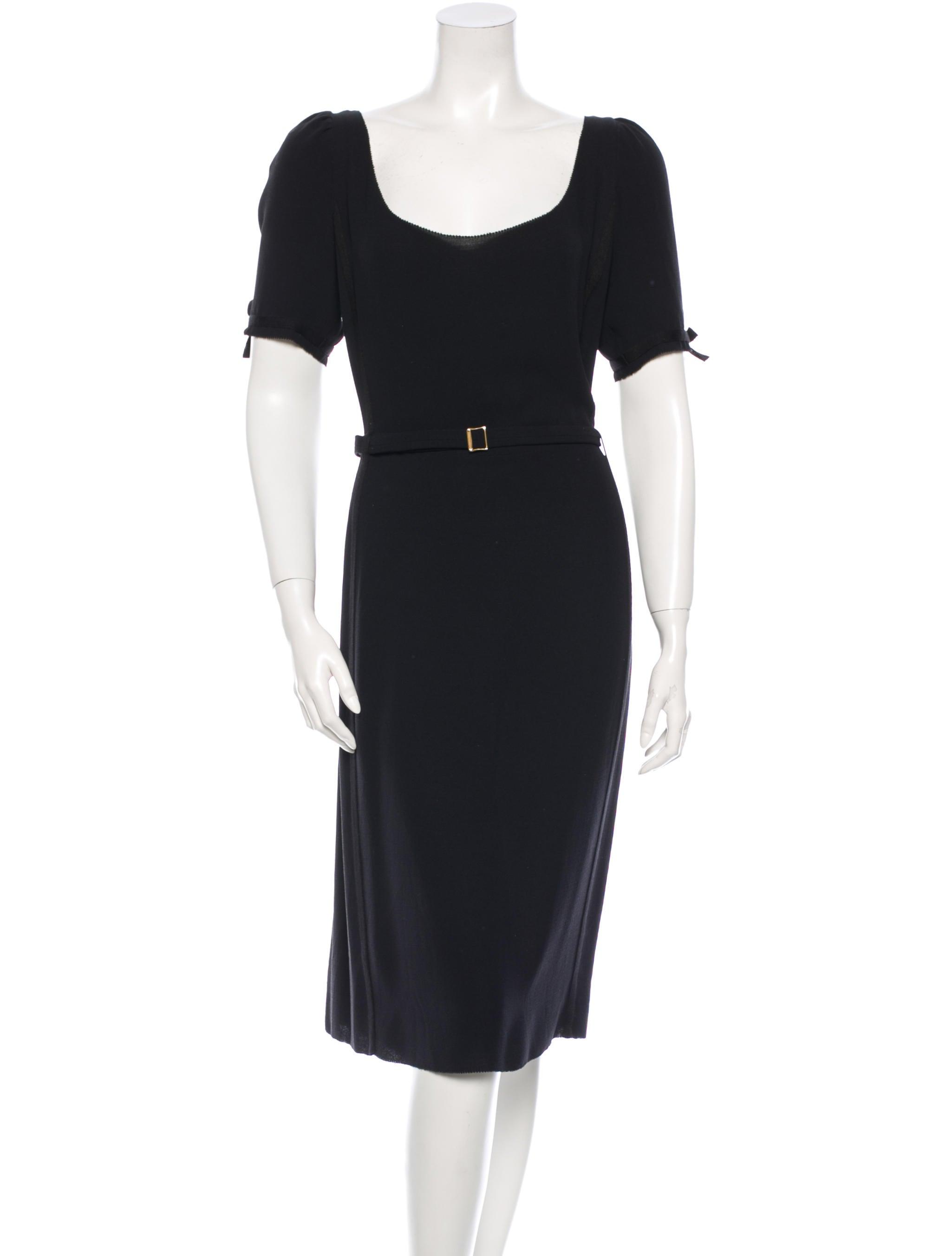 37d50f96b40 Fendi Midi Dress