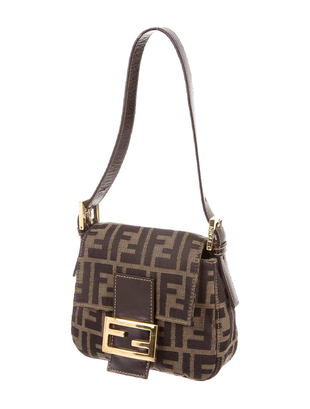 Fendi Handle Bag Handbags Fen33630 The Realreal