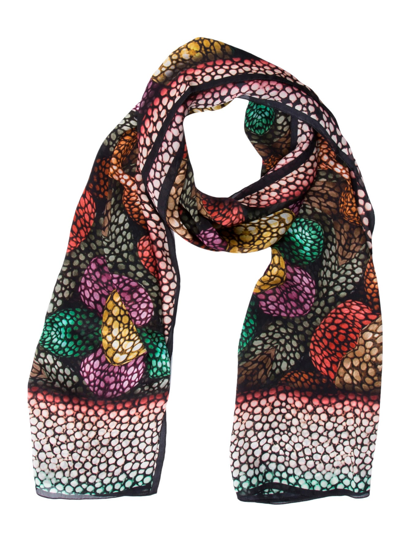 Slinky Brand Printed Chiffon Scarf For quick and easy solutions to your everyday fashion needs, look no further than Slinky. Enjoy a variety of stylish dresses and coordinates that mix and match to create incredible ensembles that are comfortable, easy-to-wear and perfect for any occasion/5(10).