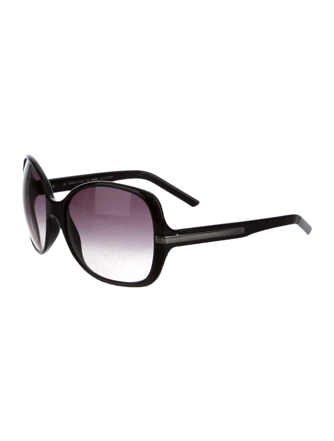 17070f1d8e90 Fendi Logo Lens Sunglasses