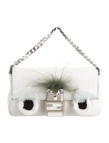 Fendi Micro Bag Bug Baguette