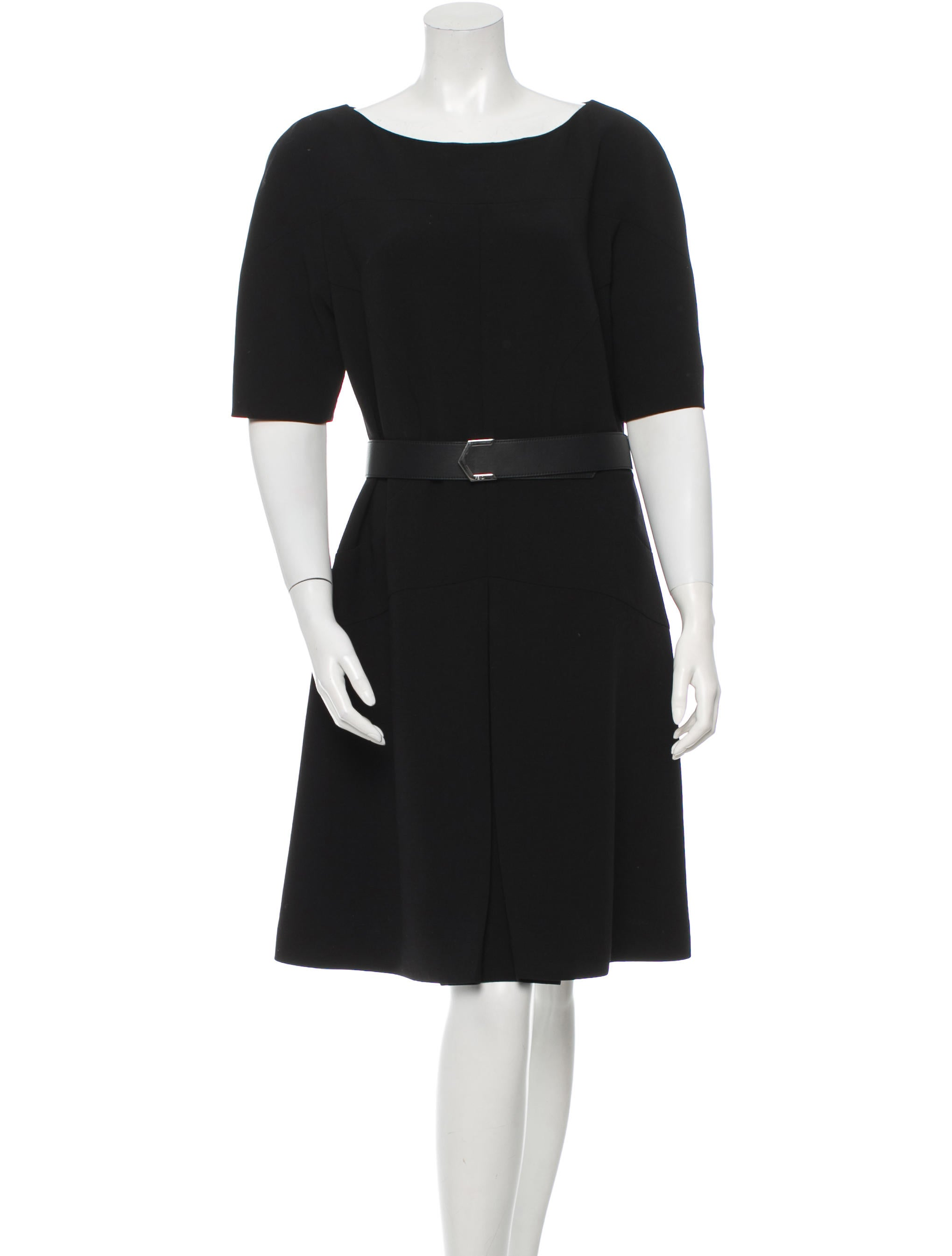 fendi belted a line dress clothing fen45235 the realreal