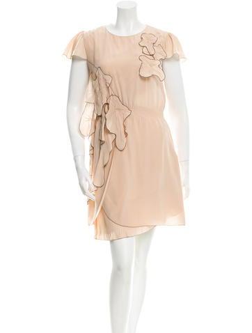 Fendi Silk Mini Dress None