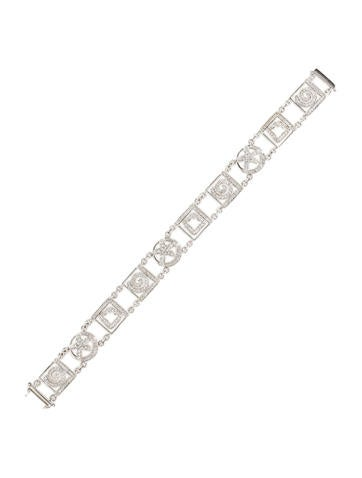 1.67ctw Pavé Diamond Seashell Bracelet