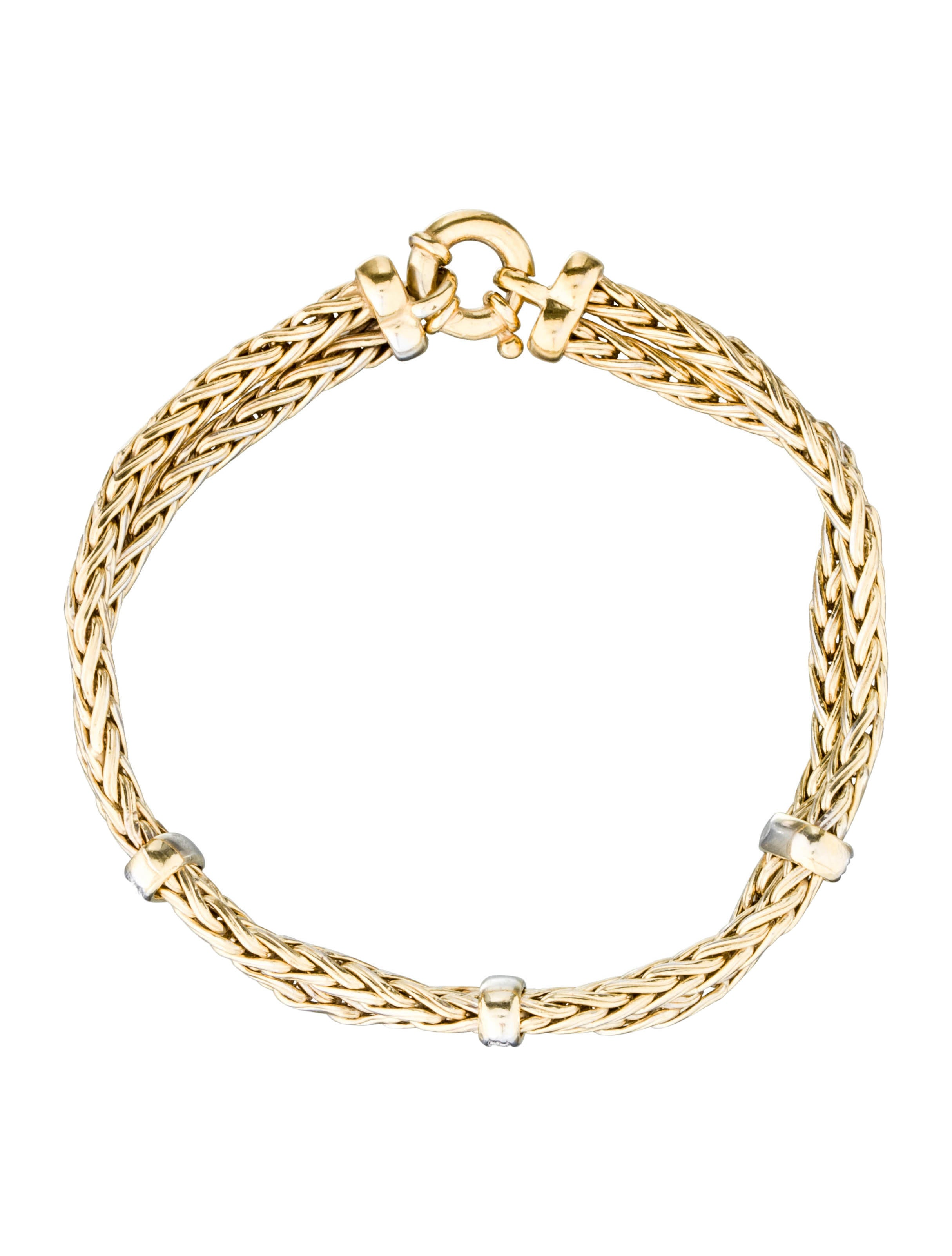 Diamond Anklet With Toe Ring Lc00035 In Anklets From: 14K Gold & Diamond Station Bracelet