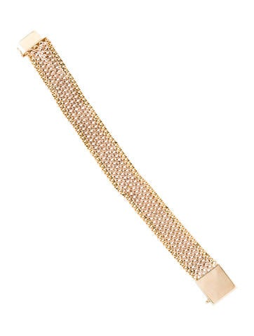 14K Two-Tone Multistrand Bracelet