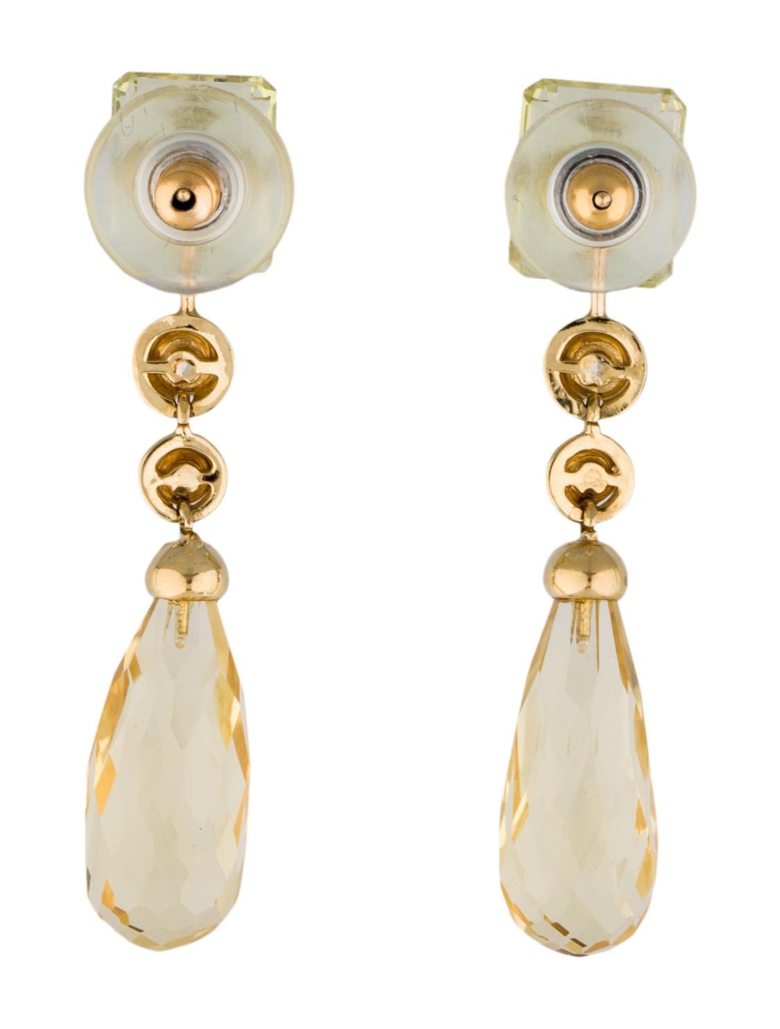 prasiolite and ruby drop earrings earrings fje25134