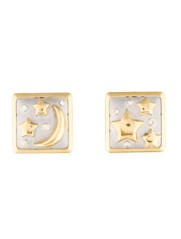 Celestial Diamond Earrings
