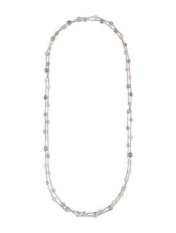 Sapphire Link Necklace