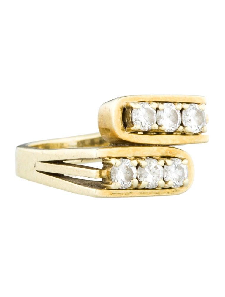 Diamond Pinky Ring Rings FJR