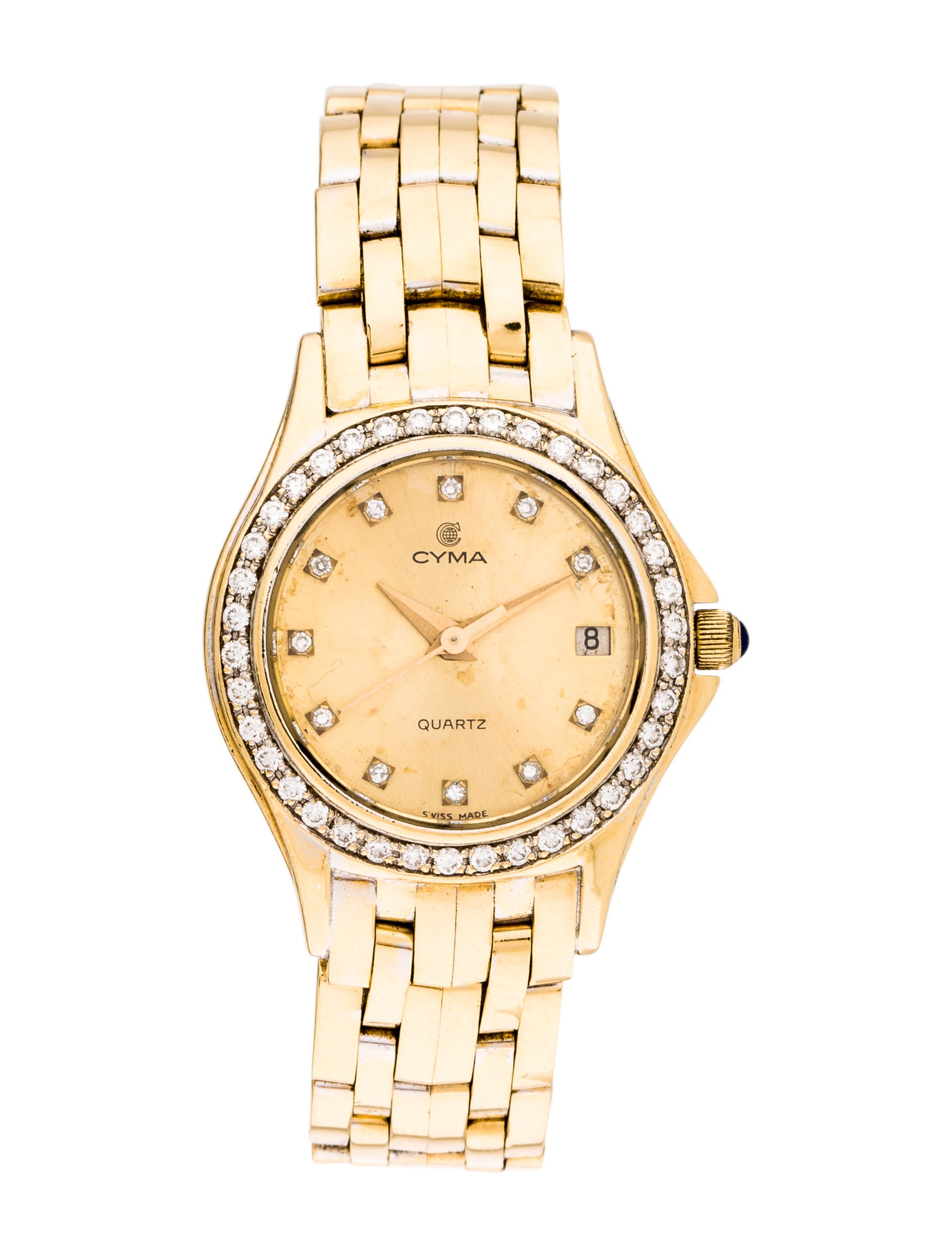 Details Diamond Quartz Watch