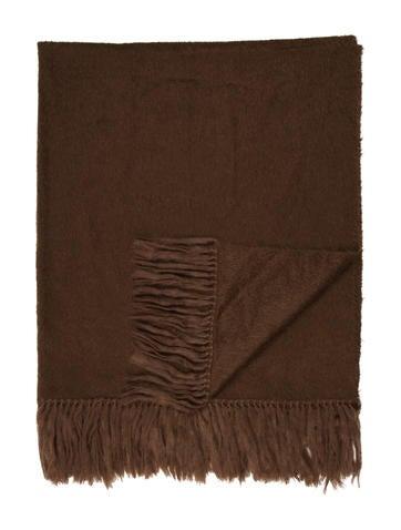 Frette Alpaca Throw Blanket