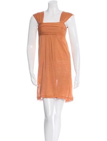 Giambattista Valli Silk Sweater Dress None