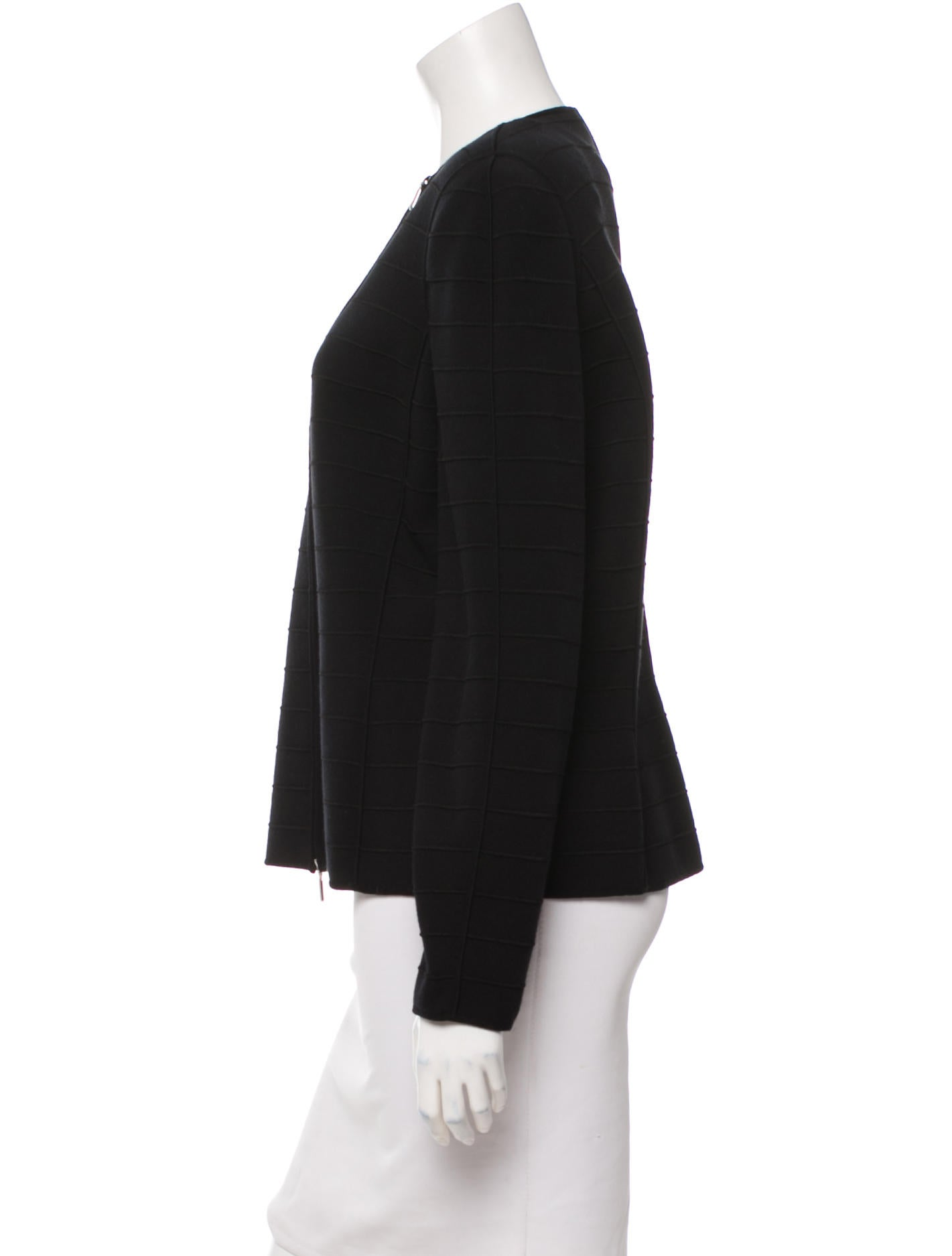 Giorgio Armani Knit Evening Jacket w/ Tags - Clothing - GIO21832 The RealReal