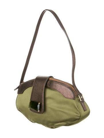 Satin Shoulder Bag