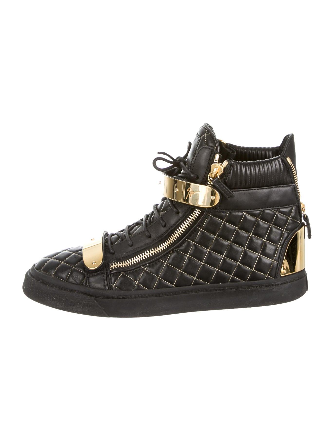 giuseppe zanotti high top sneakers mens shoes giu26496