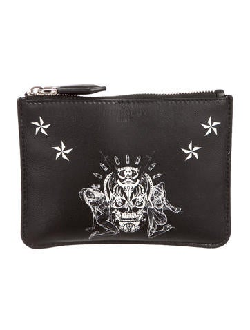 Givenchy Small Skull Pouch