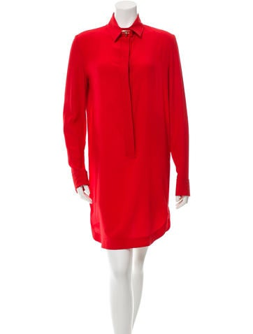 Givenchy Silk Shift Dress