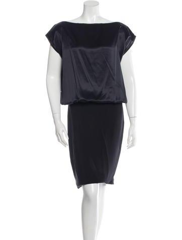 Givenchy Paneled Sleeveless Dress None
