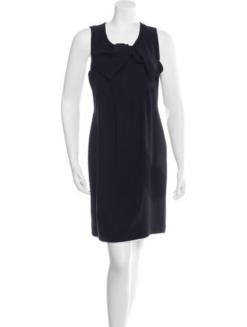 Givenchy Bow-Accented Sleeveless Dress None