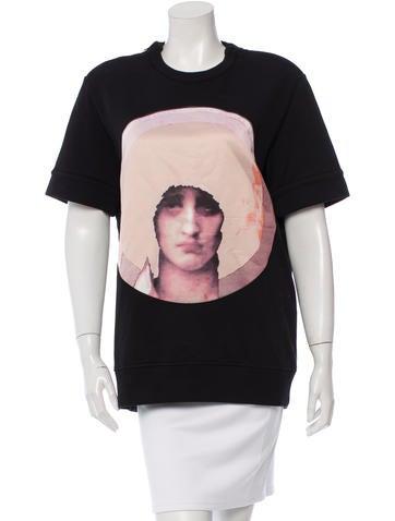 Givenchy Madonna Graphic Sweatshirt None