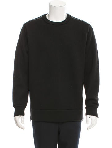 Givenchy Wool Crew Neck Sweater None