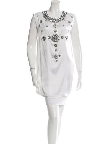 Givenchy Embellished Sleeveless Top w/ Tags None