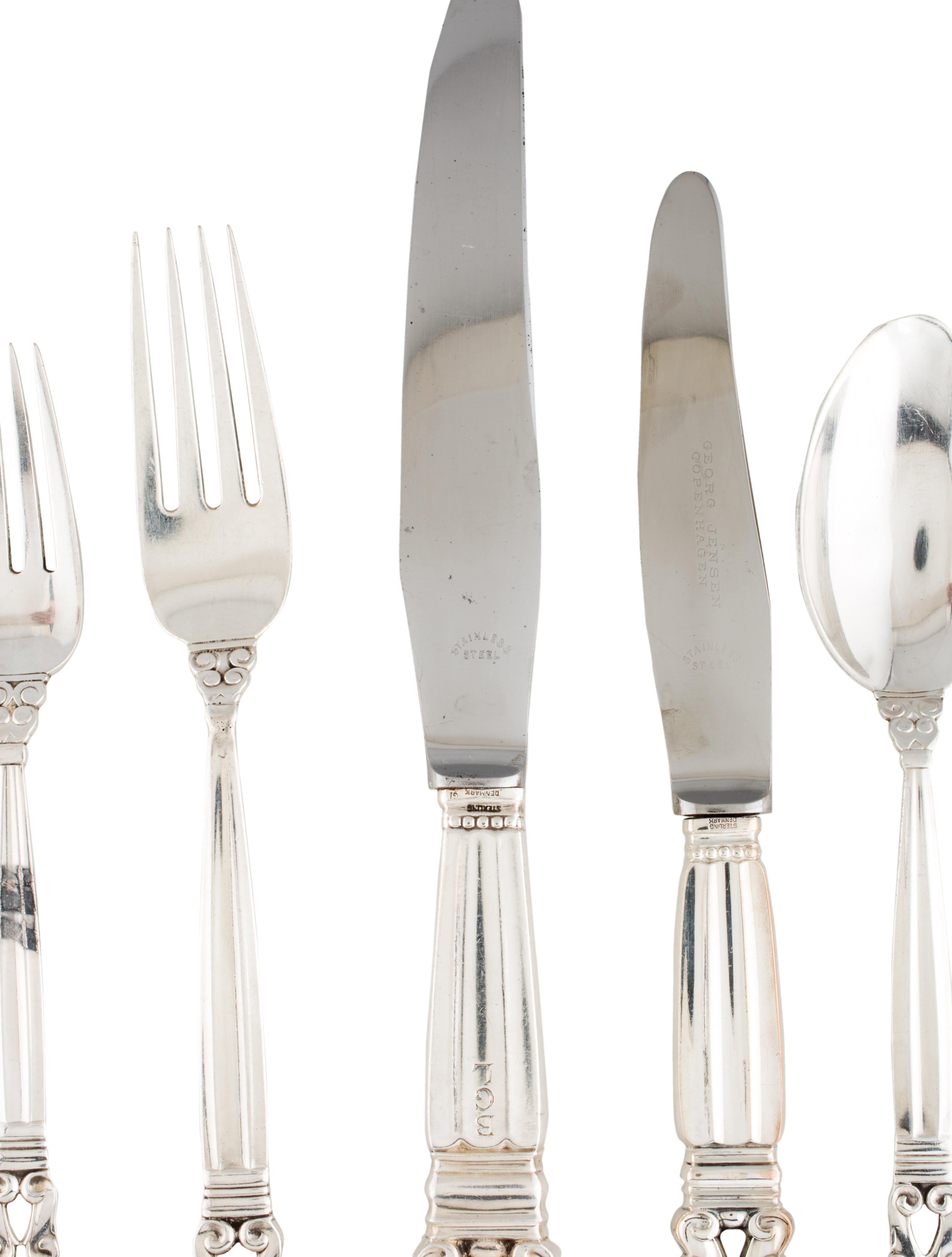 Georg Jensen Silverware Set Tabletop And Kitchen Gjj20152 The Realreal