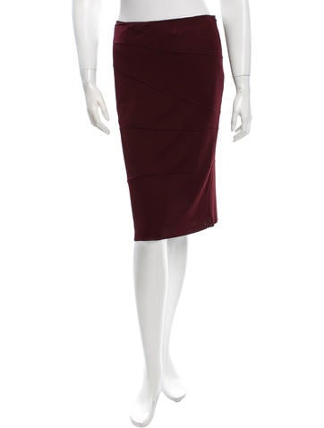 Gucci Knit Knee-Length Skirt None