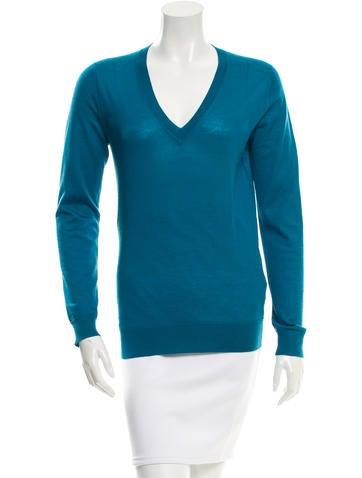Gucci Cashmere & Silk-Blend Sweater None